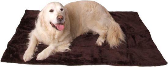 @Pet Hondendeken DeLuxe Bruin 80 cm
