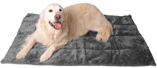 @Pet Hondendeken DeLuxe Grijs 80 cm