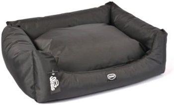 Duvo BED SIESTA CAVIAR Zwart 64x75 cm