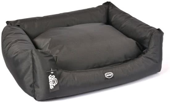 Duvo BED SIESTA CAVIAR Zwart 71x84 cm
