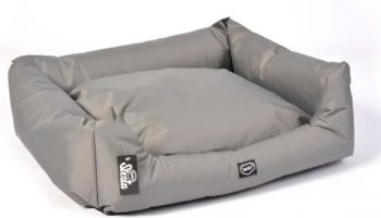Duvo BED SIESTA OYSTER Donkergrijs 51x62 cm