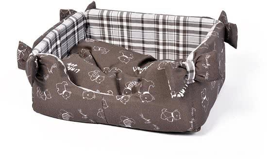 Duvo Bed Rechthoekig Candy Little Dog Bruin 35x47 cm