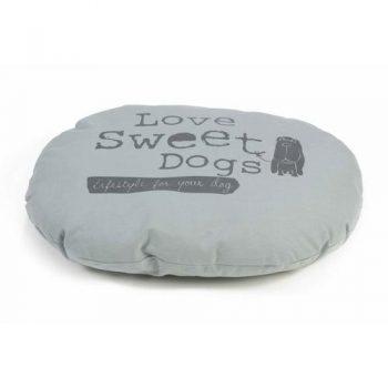 Beeztees Sweet Dogs - Hondenkussen Grijs 42x56 cm