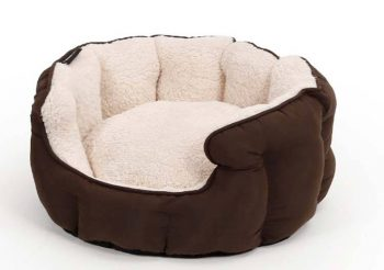 51 Degrees North Hondenmand Sheep Soft Bed Beige Ø 45 x 22 cm