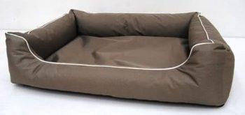 80 Ligbed voor honden Paula Bruin | Ecru 80x60 cm