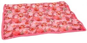Aqua Coolceeper Cool Mat Roses Roze