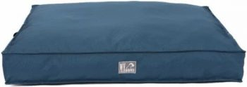 Beau & Bess Hondenkussen Oxford Piping Waterproof Blauw 110x70 cm