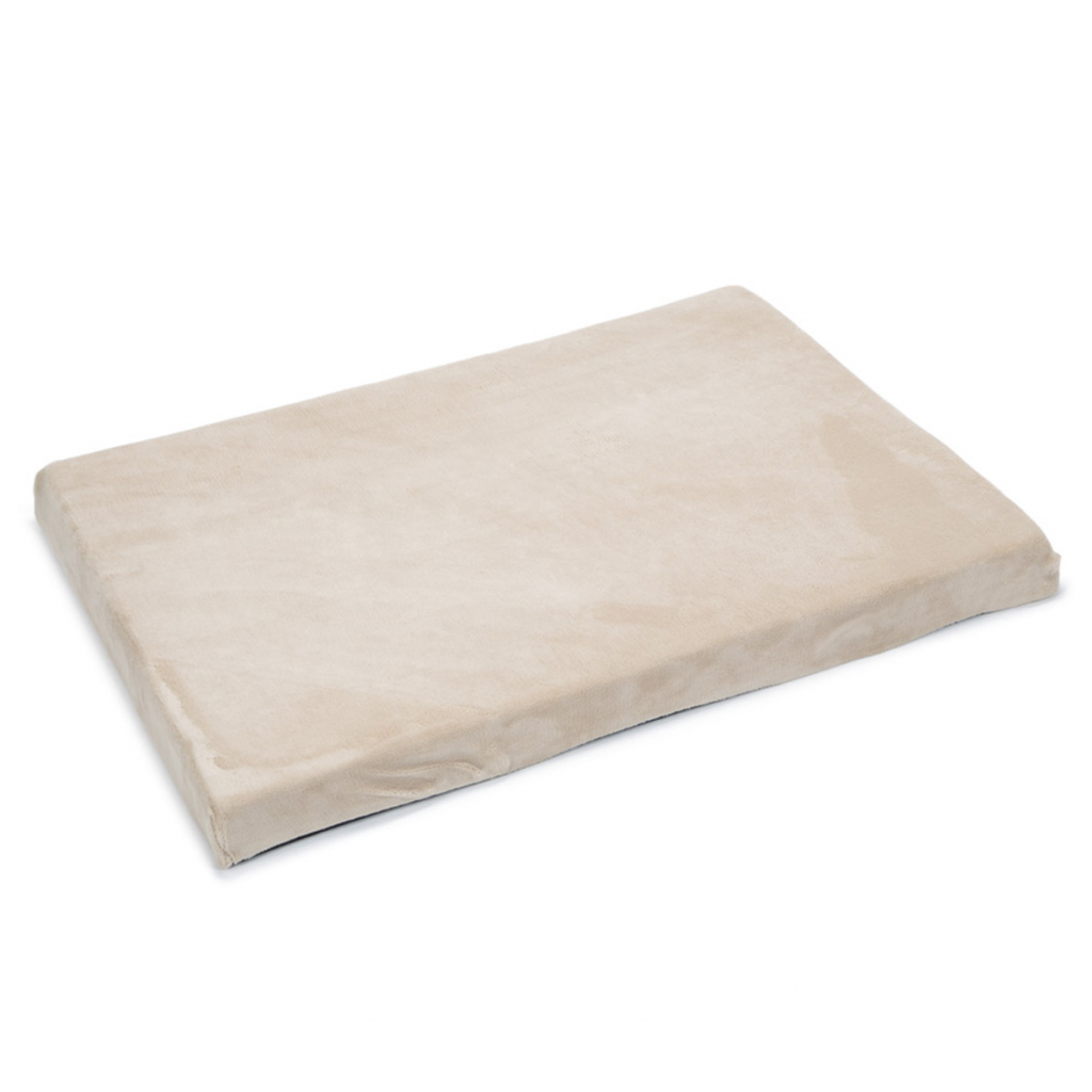 Beeztees Hondenbed beige 100x70x8 cm traagschuim 707035