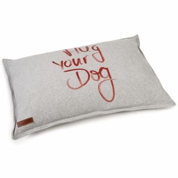Beeztees Hondenkussen Hug Your Dog Grijs x70 cm