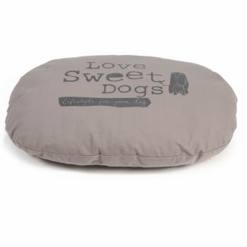 Beeztees Hondenkussen Sweet Dogs mokka 74x58 cm ovaal 706597