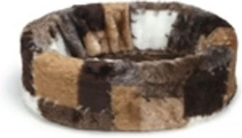 Beeztees Hondenmand - Patch Bruin 40x40 cm