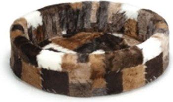 Beeztees Hondenmand - Patch Bruin 60x64 cm