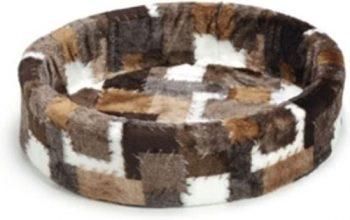 Beeztees Hondenmand - Patch Bruin 70x72 cm