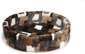 Beeztees Hondenmand - Patch Bruin 80x85 cm