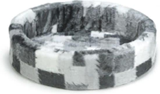 Beeztees Hondenmand - Patch Grijs 60x64 cm