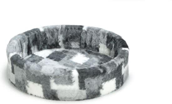 Beeztees Hondenmand - Patch Grijs 70x72 cm
