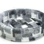 Beeztees-Hondenmand-Patch-Grijs-80×85-cm
