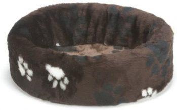 Beeztees Hondenmand - Voetprint Bruin 40x43 cm