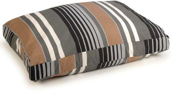 Beeztees Lucky Stripe - Hondenkussen Bruin 70x100 cm