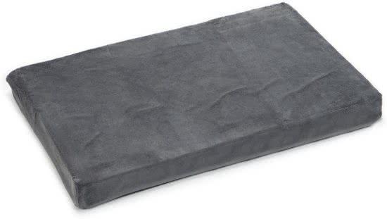 Beeztees Memory Foam - Hondenkussen Grijs 100x45 cm