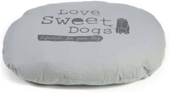 Beeztees Sweet Dogs - Hondenkussen Grijs 75x95 cm