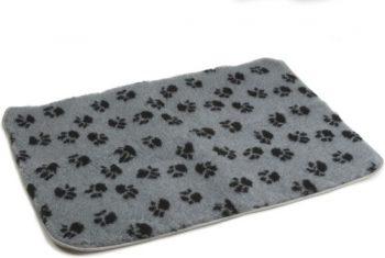Beeztees Vetbed - Hond - Antislip Grijs 75x100 cm