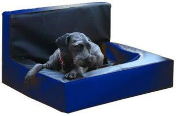 Bia Wall Hondenmand Blauw 60x70 cm