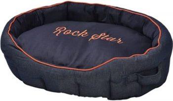 Bobby Ligmand Rock Star Navy Blauw 75x103 cm