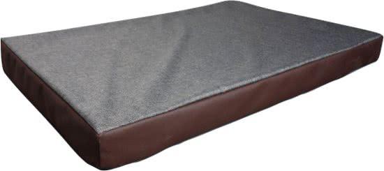 Boefje Hondenbed de Luxe Grijs 90x60 cm
