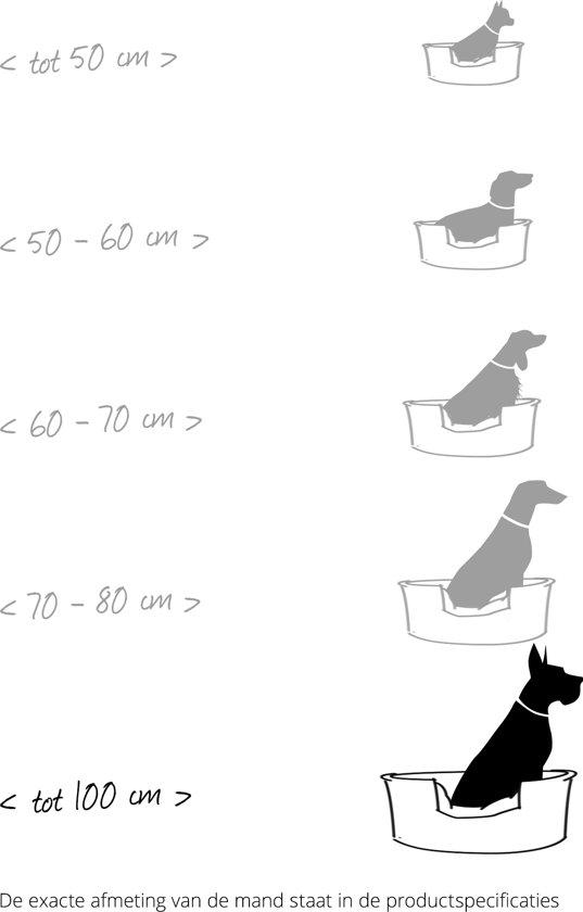 Boon Hondenkussen Waterproof Beige 80x90 cm