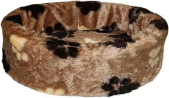 Chikko Comfort Hondenmand Bonte Kleuren | Bruin 50 cm
