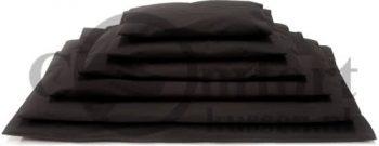 Comfort-Kussen Comfort benchkussen all weather Zwart 50x60 cm