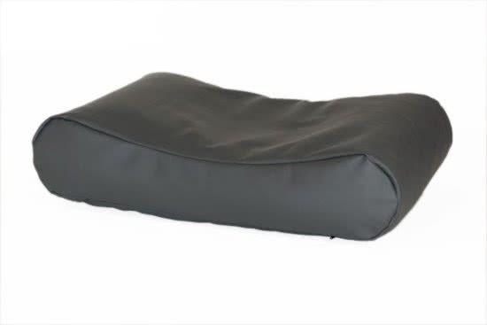 Comfort-Kussen Hondenkussen Deluxe leatherlook Antraciet 55x80 cm