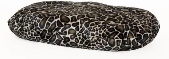 Comfort-Kussen Hondenkussen Ovale Bonfire Bonte Kleuren 45x65 cm