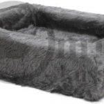 Comfort-Kussen-Overtrek-voor-hondenmand-Teddy-Grijs-85×70-cm
