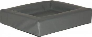 Comfort-Kussen hondenmand leatherlook Antraciet 50x60 cm
