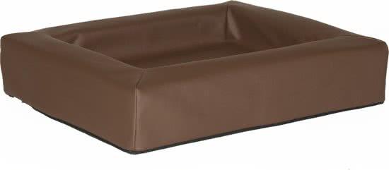 Comfort-Kussen hondenmand leatherlook Bruin 50x60 cm