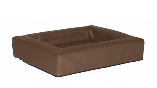 Comfort-Kussen hondenmand leatherlook Bruin 80x100 cm