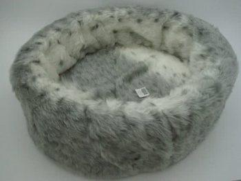 Competition Mand bontmand sneeuw luipaard type Grijs   Wit 50x50 cm