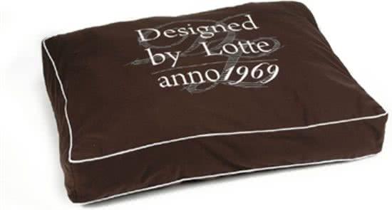 Designed by Lotte Hondenkussen Bruin 70x100 cm