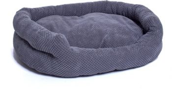 Dierblij Hondenmand Bruno Grijs 52x68 cm