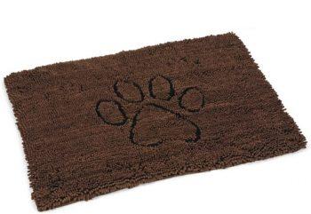 Dog gone smart Dirty Dog - Droogloopmat Hond Bruin 68x88 cm