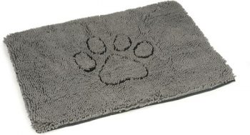 Dog gone smart Dirty Dog - Droogloopmat Hond Grijs 68x88 cm