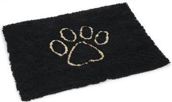 Dog gone smart Dirty Dog - Droogloopmat Hond Zwart 68x88 cm