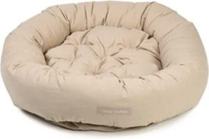 Dog-gone-smart-Nano-Hondenmand-Donut-Beige-107×107-cm
