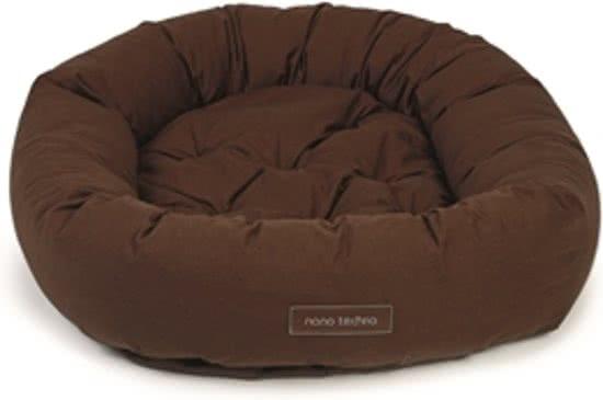 Dog gone smart Nano - Hondenmand -  Donut Bruin 107x107 cm