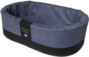 Doggybed-Orthopedische-Hondenmand-Paddy-Style-Blauw-42×55-cm