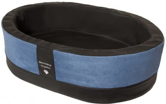 Doggybed Orthopedische Hondenmand Paddy Style Blauw 90x60 cm