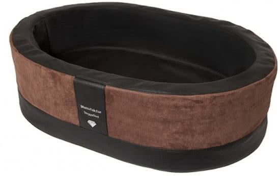Doggybed Orthopedische Hondenmand Paddy Style Bruin 100x80 cm