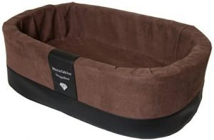 Doggybed-Orthopedische-Hondenmand-Paddy-Style-Bruin-55×42-cm